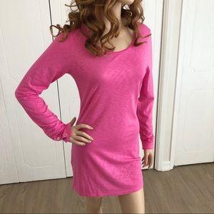 Velvet by Graham & Spencer Pink T-Shirt Dress